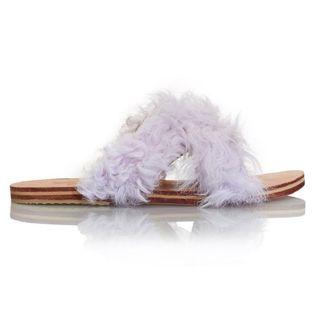 Curly Goat Lamu Sandals