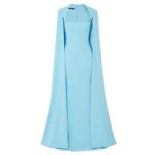 Mia Cape-Effect Gown