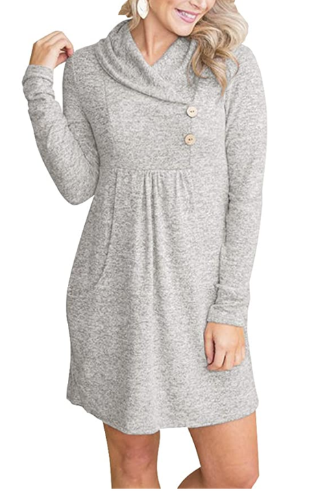 13 Best Sweater Dresses On Amazon