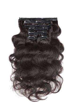 Зажим Remy для наращивания волос Urbeauty Body Wave