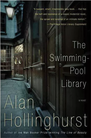 The Swimming-Pool Library - (Vintage International) by Alan Hollinghurst (Paperback)