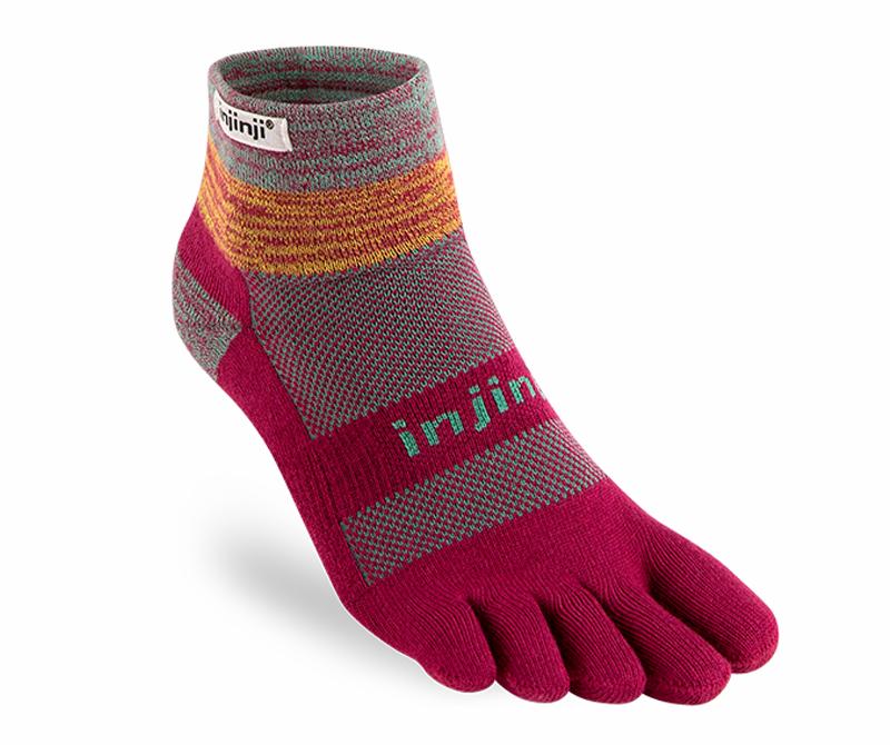 More Mile Endurance Running Socks Yellow Anti-Blister Coolmax Cushioned Sock Men