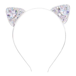 Cat Animal Ears Rhinestone Hair Band