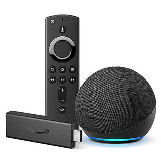 New Fire TV Stick and Echo Dot Bundle