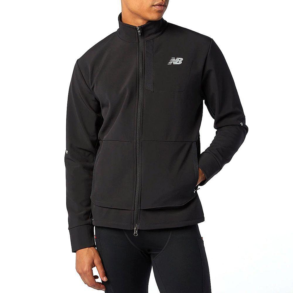 new balance running jacket mens