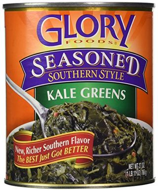 Glory Groceries, Seasoned, Kale, 27 Ounce Can