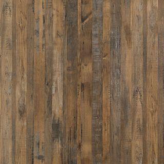 Salvaged Plank Elm Wall Panel
