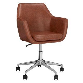 Reid Faux Leather Office Chair