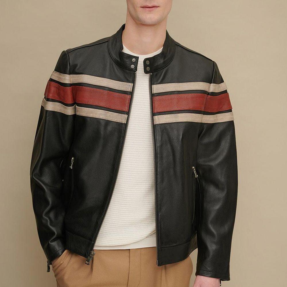 Men/'s Black Faux Leather Jacket Regular Regular Fit Long Sleeve Jacket Keep Warm Winter Jackets Party Night Casual Jacket Hoodies Jacket