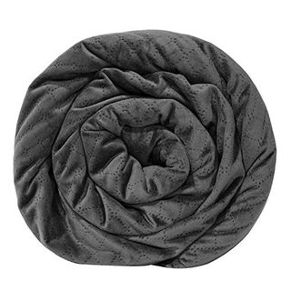 Quilted Weighted Blanket W/Removable Cover