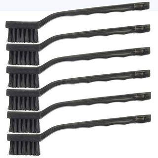 Cepillos de alambre de nailon Hyde Tools - Paquete de 6