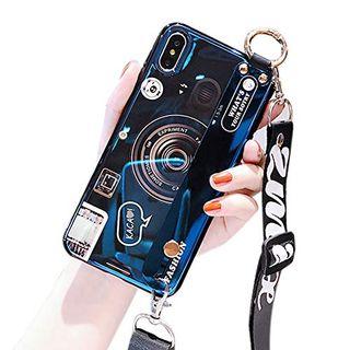 Чехол для телефона с принтом в стиле ретро с камерой