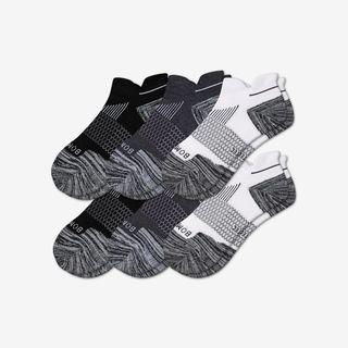 Men's Performance Running Ankle Sock 6-Pack