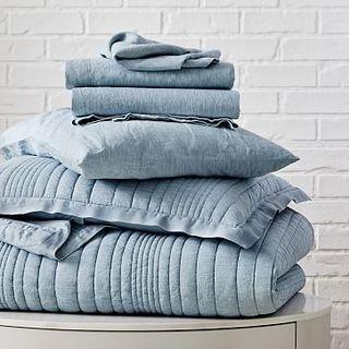 Комплект постельного белья для начинающих Quilt из льняной ткани