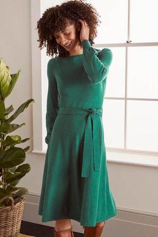 Deborah Belted Knitted Dress, £120