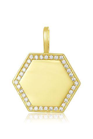 ICONS Hexagon Engravable Charm