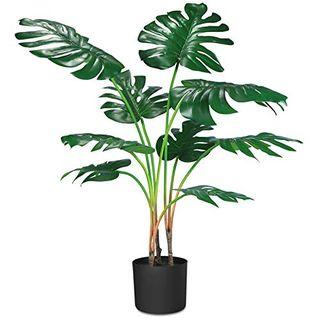 Artificial Monstera Deliciosa Plant