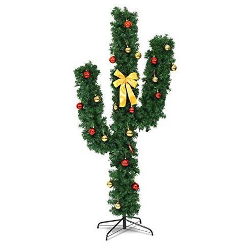 Amazon Is Selling A Full Sized Pre Lit Christmas Cactus Tree