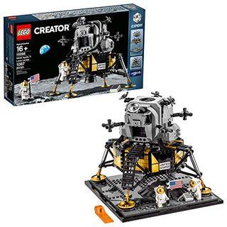 LEGO Creator Expert NASA Apollo 11 Lunar Lander (1,087 Pieces)