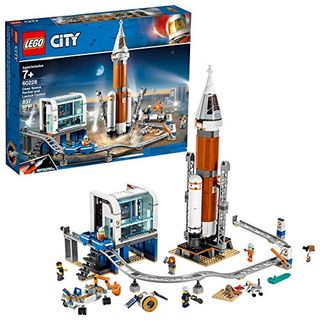 LEGO City Space Deep Space Rocket and Launch Control (837 Pieces)