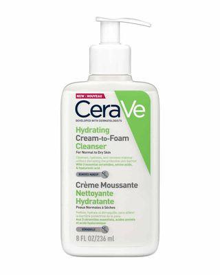Hydrating Cream to Foam Cleanser
