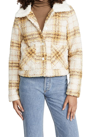 Women's Plaid Jacket