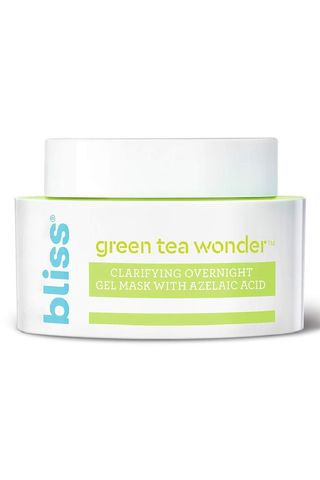 Bliss Green Tea Wonder Clarifying Overnight Gel Mask with Azelaic Acid