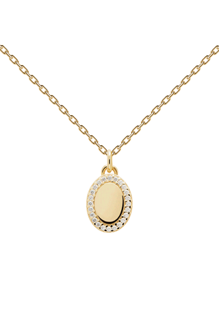 Mademoiselle Gold Necklace