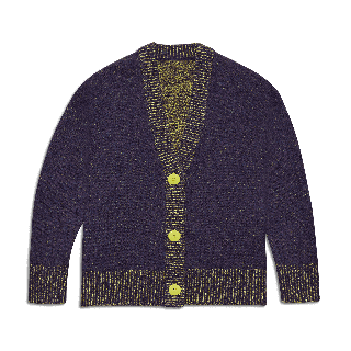 Women's Wool Cardi in Nebula