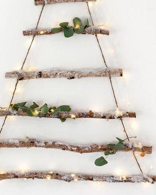Cintre d'arbre de Noël en bouleau