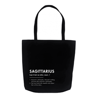 What Your Sign *Really* Means: The Sagittarius Tote Bag