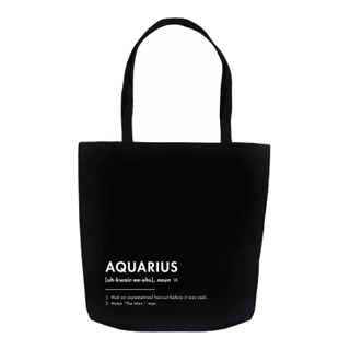 What Your Sign *Really* Means: The Aquarius Tote Bag