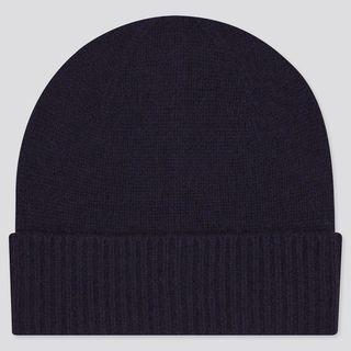 Кашемировая вязаная шапка
