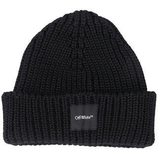 Рубчатая шапка с логотипом