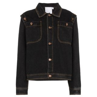 Detachable Sleeve Denim Jacket