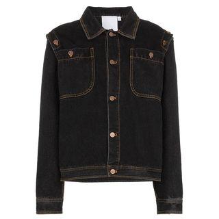 Detachable Sleeve Denim Jacket
