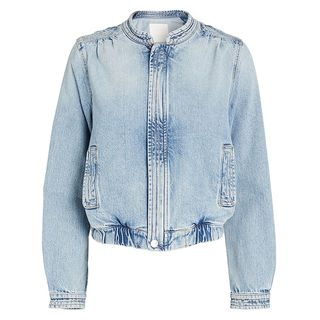 The Quad Denim Bomber Jacket