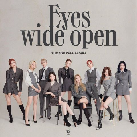"TWICE on Their ""Eyes Wide Open"" Comeback Album and ""I Can't Stop Me"" Music  Video"