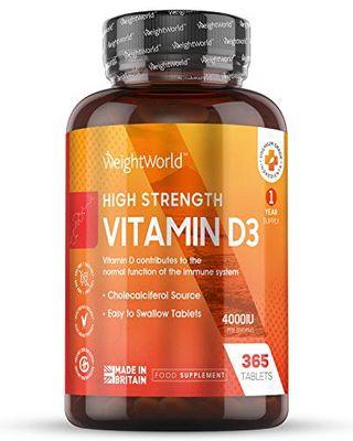Vitamin D 4000IU High Strength - 365 Tablet