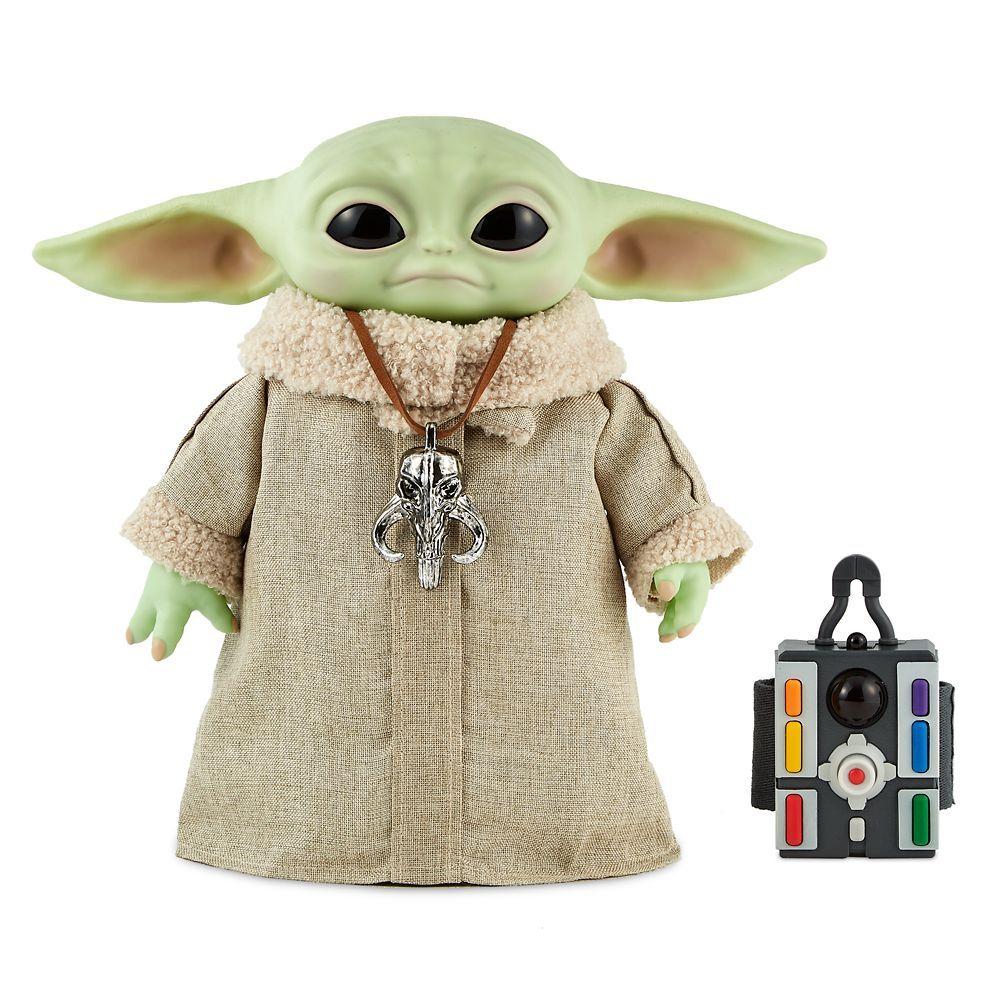 The Mandalorian NEW Baby Yoda Doll The Child Star Wars Talking Plush Toy