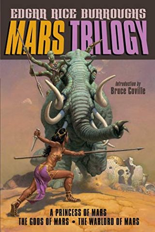 Mars Trilogy (A Princess of Mars / The Gods of Mars / The Warlord of Mars) by Edgar Rice Burroughs