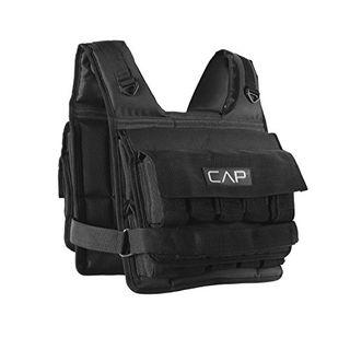 CAP Adjustable Weighted Vest, 20 lbs.