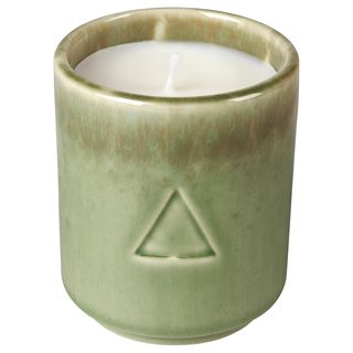 OSYNLIG Scented Candle, Cotton Flower & Apple Blossom