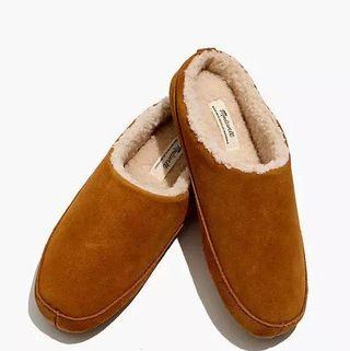 Suede Scuff Slippers