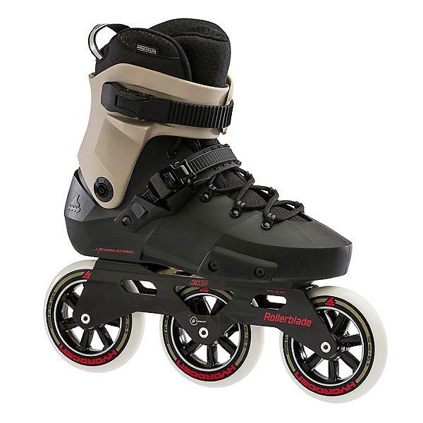 Black and White Rollerblades 5th Element ST-80 Urban Inline Skates
