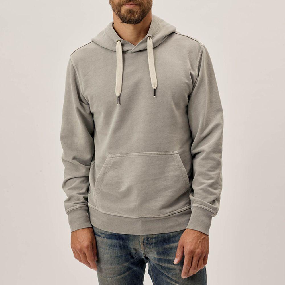 Men Soft Embroidery Sweatshirts Pullover Hooded Tops Fleece Sweater Coat Tops US