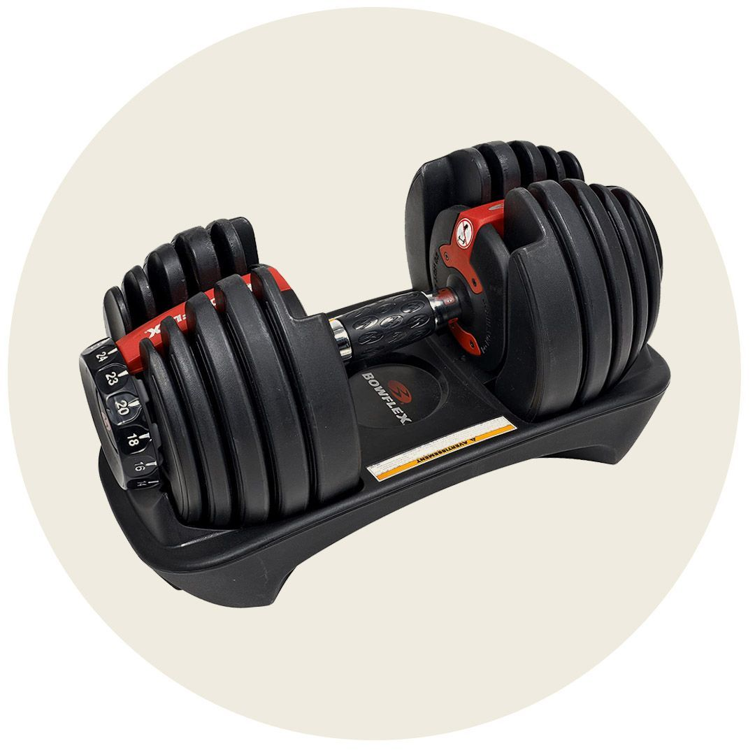 MuscleSquad 32.5kg Adjustable Dumbbell 12 in 1 Dumbbell 5kg to 32.5kg