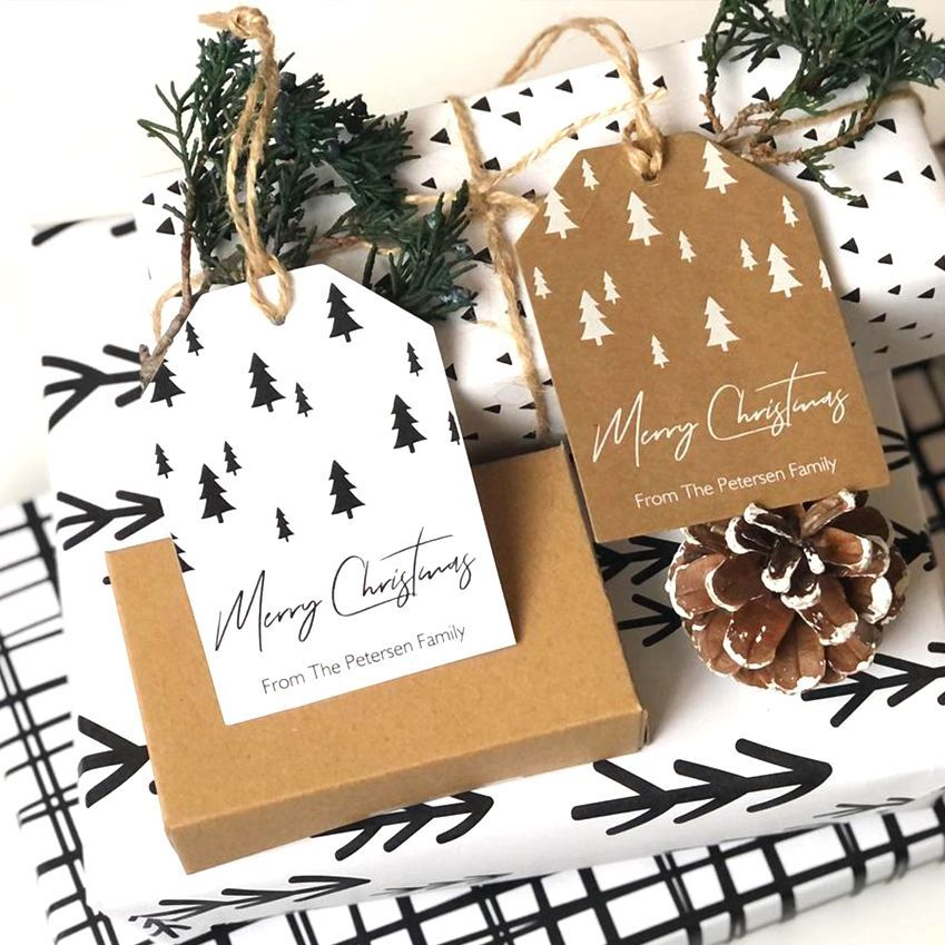 Christmas Tags 10x Lockdown tags eco friendly for any recipient