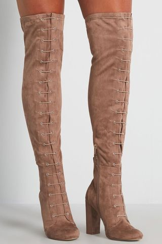 Moving On Lace-Up Boot