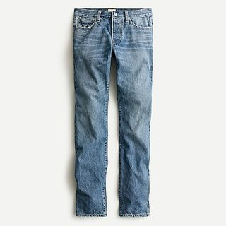 J.Crew 484 Slim-fit jean in light wash Japanese selvedge denim